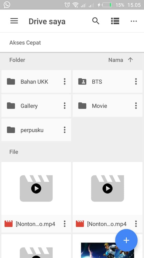 Buka Google Drive