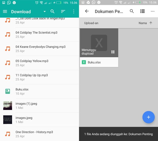 Masukkan File ke Dalam Google Drive