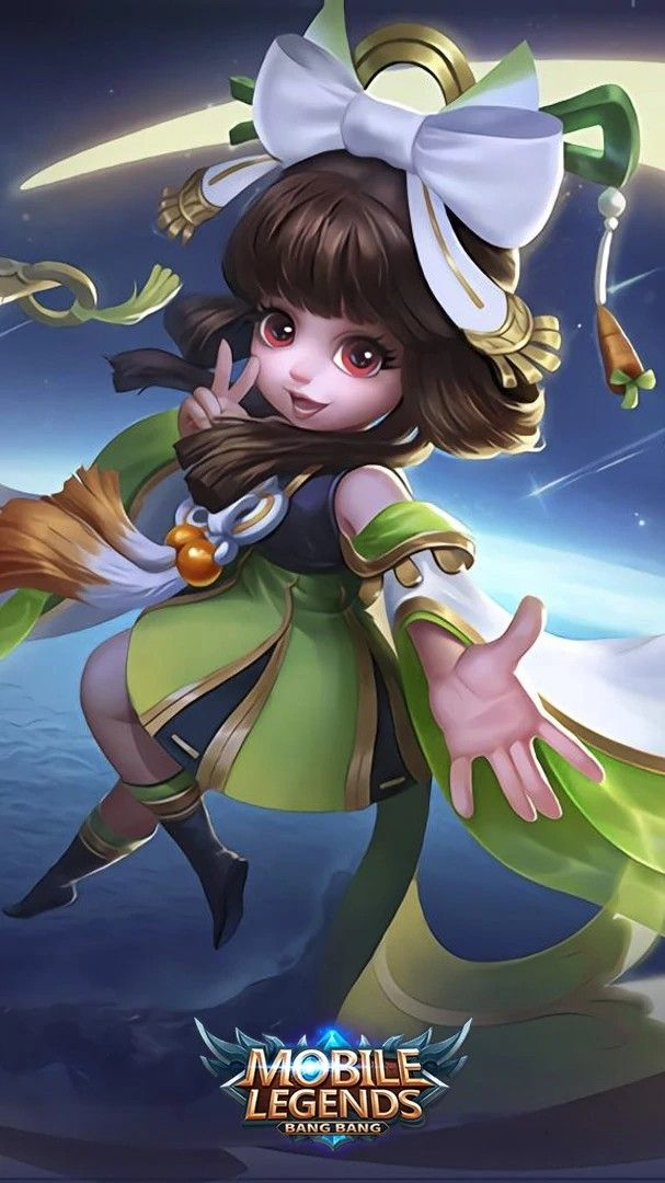 Wallpaper Chang'e Mobile Legends