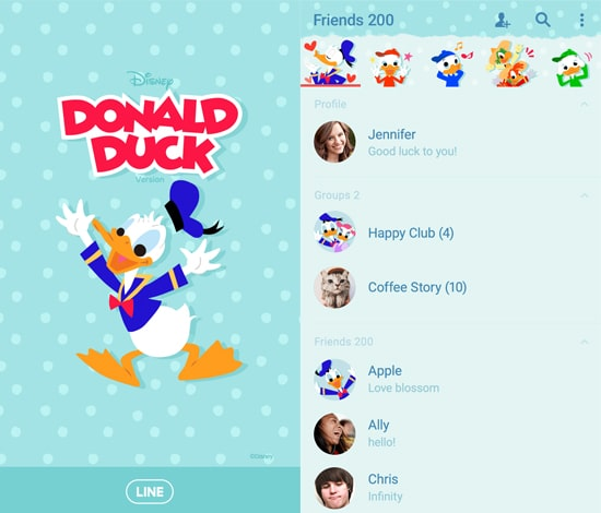 Donald Duck (Polka Dots)