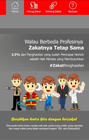 Kalkulator Zakat Profesi