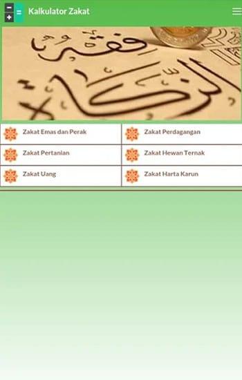 Kalkulator Zakat - Syaban