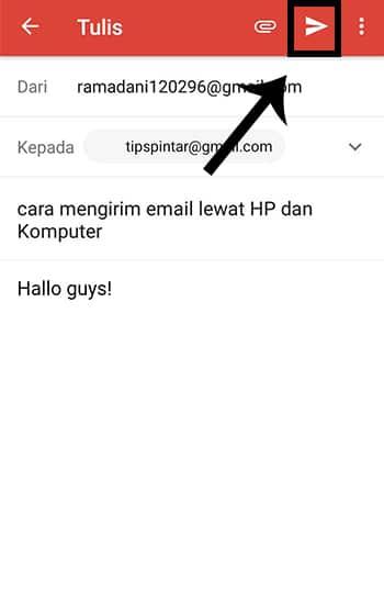 Kirim Pesan Email