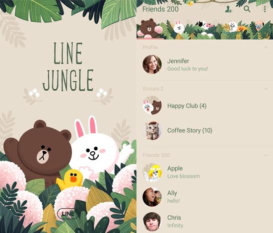 LINE Jungle