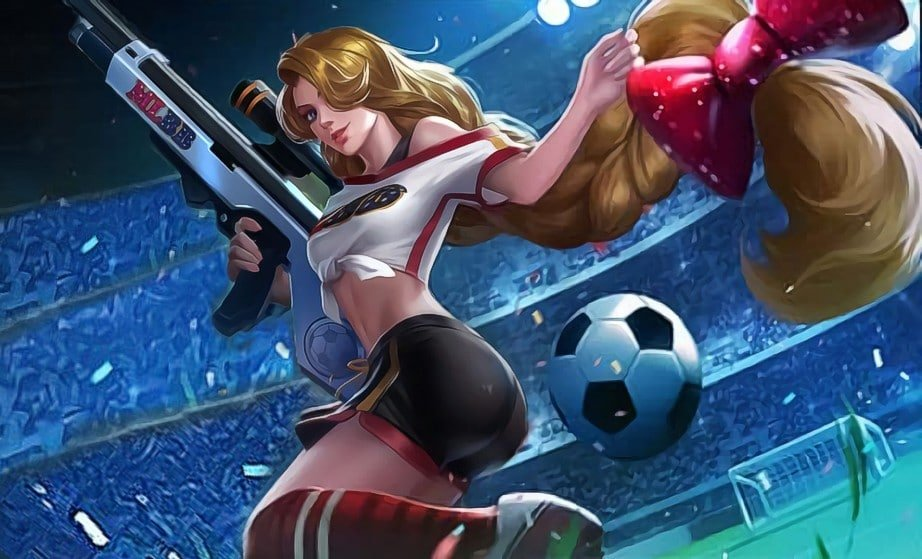 Awesome Wallpaper HD Mobile Legends Lesley Cheergunner