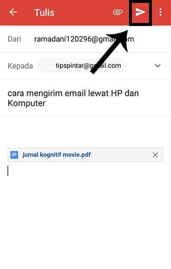 Mengirim File Google Drive