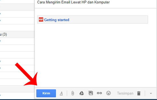 Mengirim File Google