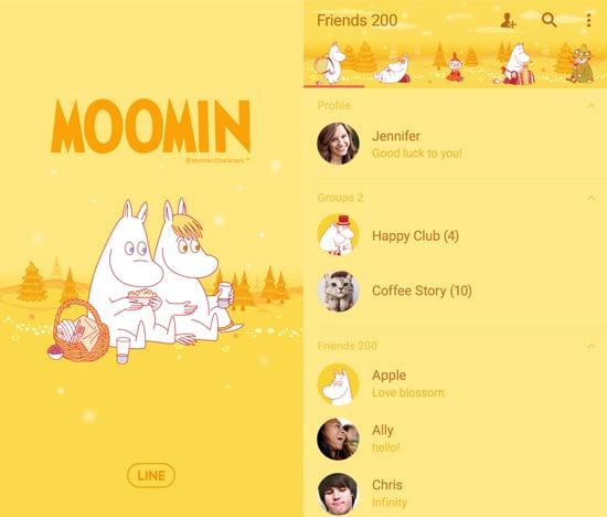 Moomin Autumn Colors