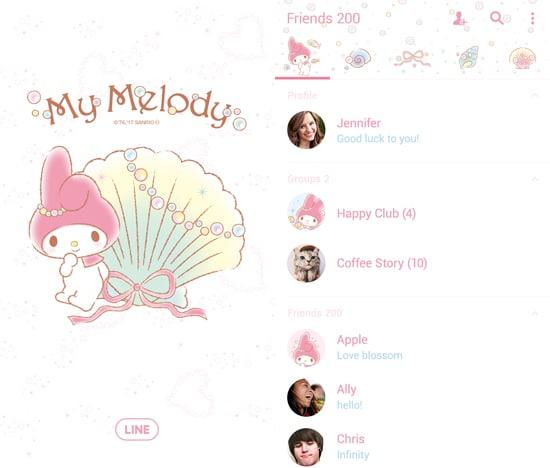 My Melody Summer shell