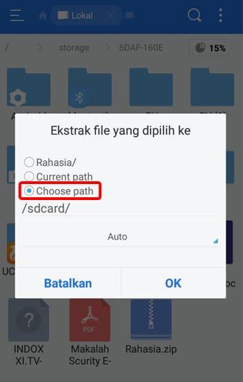 Pilih Choose Path