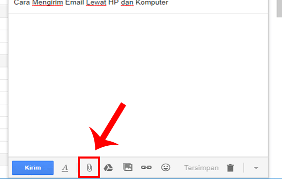 Pilih Icon Lampiran File