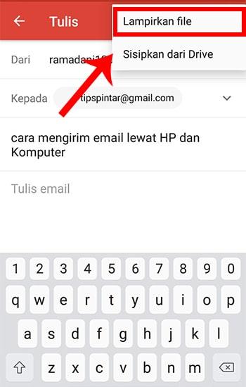 Cara Mengirim Email Lewat HP dan Komputer (Dijamin Mudah!) 8