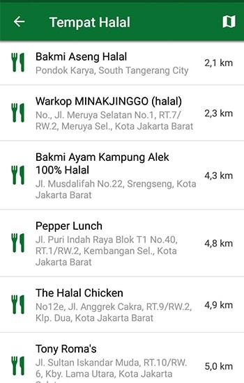 Tempat Makan Halal Terdekat