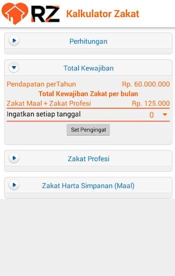 Zakat Mobile by Rumah Zakat