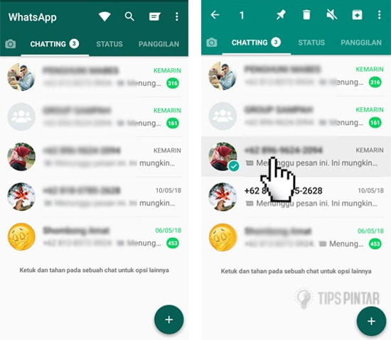 Cara Menyembunyikan Chat di WhatsApp Tanpa Arsip 8