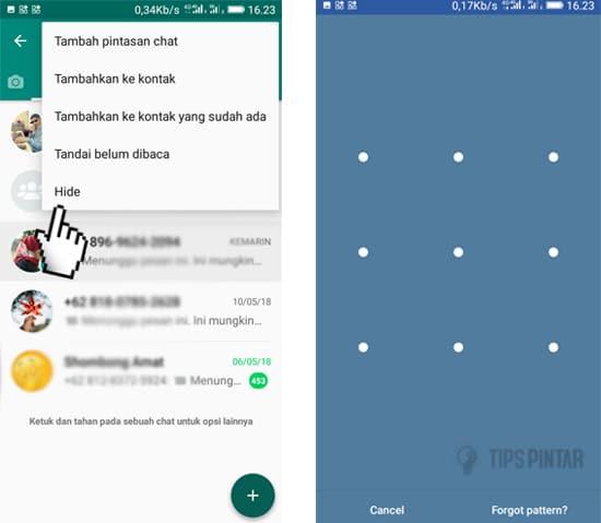 Cara Menyembunyikan Chat di WhatsApp Tanpa Arsip 9