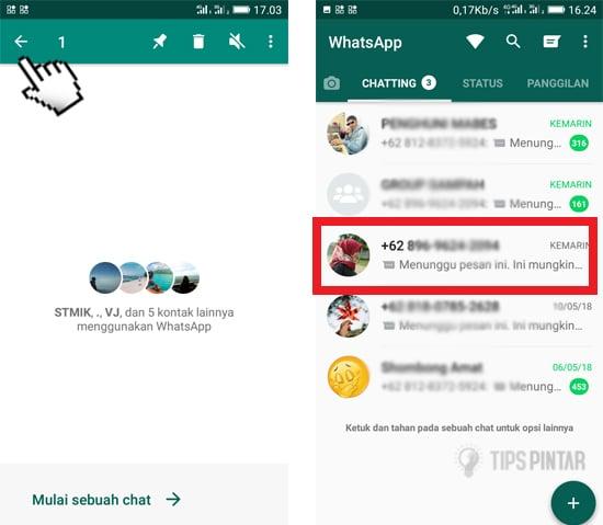 Cara Menyembunyikan Chat di WhatsApp Tanpa Arsip 13