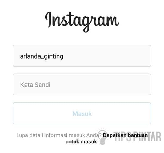 Login Instagram