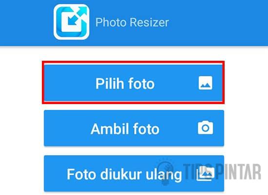 Pilih Menu Pilih Foto