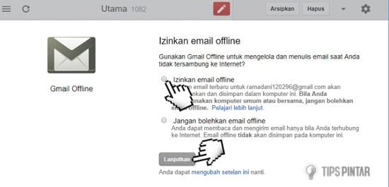 Cara Mengaktifkan Mode Offline di Gmail (Email Tanpa Internet!) 7
