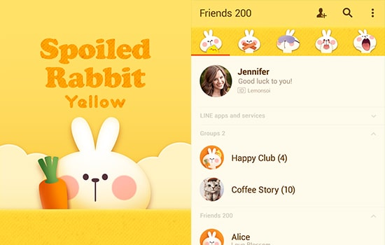 "Spoiled Rabbit ""Yellow"""