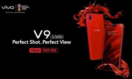 'True Red' Variasi Warna Terbaru dari Smartphone Vivo V9 25