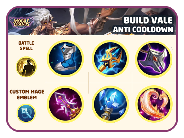 Build Anti Cooldown - Tips Pintar