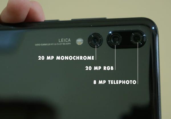 Smartphone Canggih, Huawei P20 Pro Hadir dengan Triple Camera 9