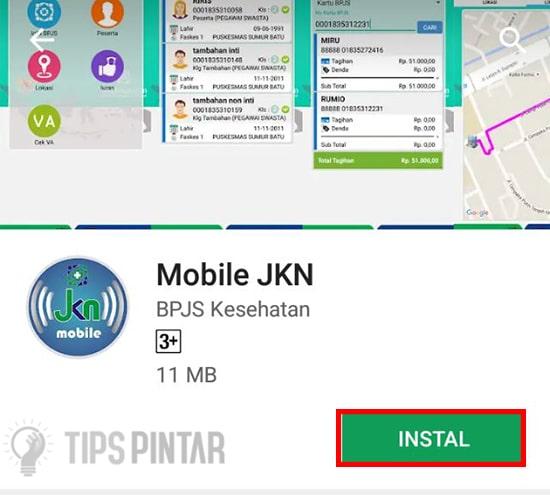 Install Aplikasi Mobile JKN