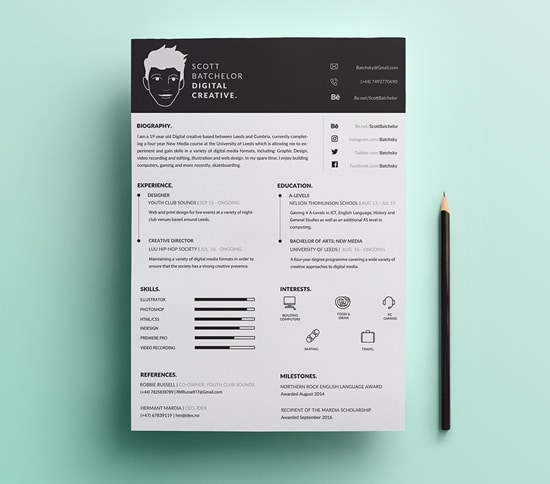 Free A4 CV & Covering Letter Templates