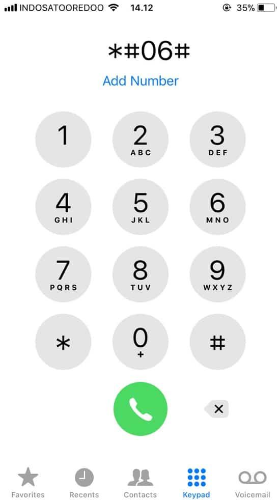 Melalui Dial Up