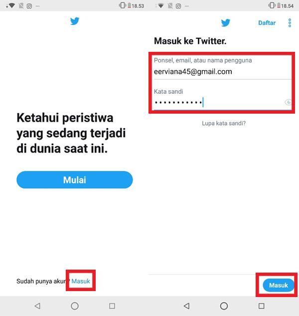Cara Hapus Akun Twitter