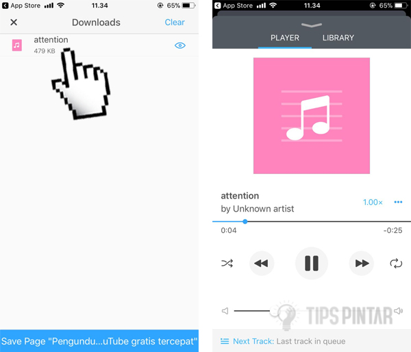 Cara Download Lagu SoundCloud di iPhone 14