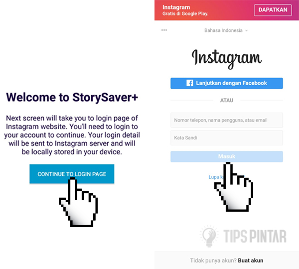 Cara Download Video Live Streaming Orang Lain di Instagram 5