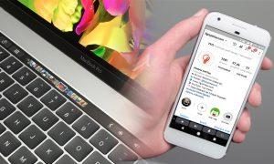 Cara Menambahkan Touch Bar ala Macbook Pro di HP Android 9
