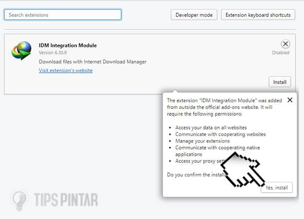 Cara Mengaktifkan IDM di Opera Browser, Dijamin Berhasil! 16