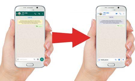 Cara Mengubah Tema WhatsApp Android Jadi Seperti iPhone 9