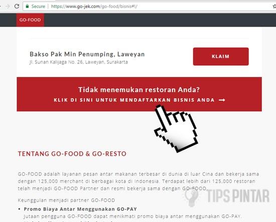 Cara Daftar GO FOOD di GO-JEK dengan Mudah 10