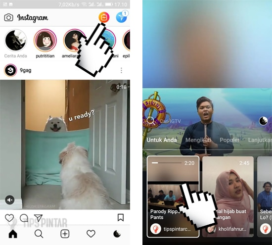 2 Cara Download Video IGTV di Instagram 10