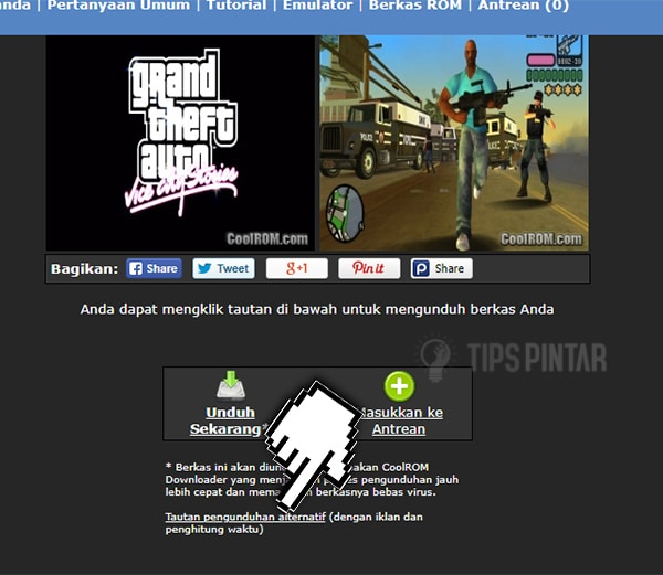 Cara Download Game PPSSPP di Komputer