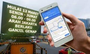 Cara Hindari Jalur Ganjil Genap Lewat Google Maps 9