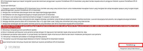 Klik Pendaftaran