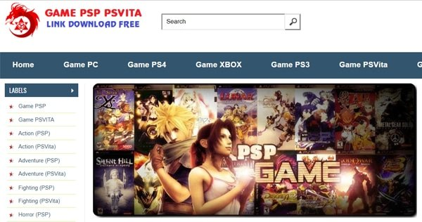 Download Game PSP