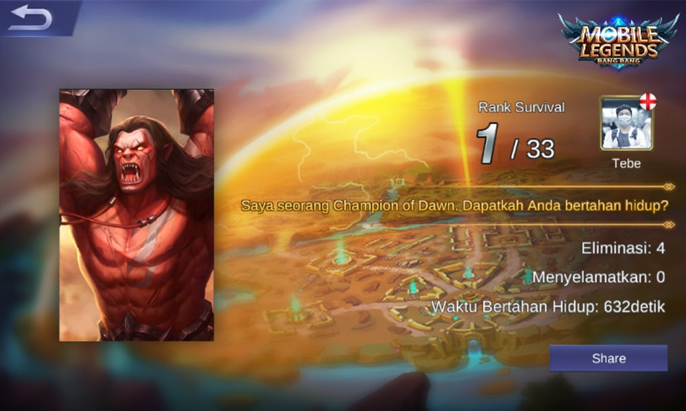 10 Combo Hero Mematikan di Mode Survival Mobile Legends 8