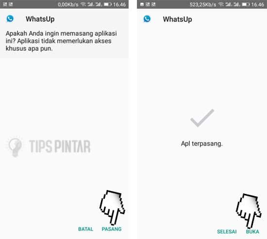 Cara Mengubah Tema WhatsApp Menjadi Transparan 6