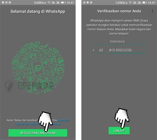 Cara Mengubah Tema WhatsApp Menjadi Transparan 7