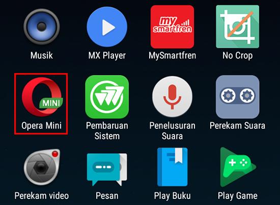 Buka Opera Mini