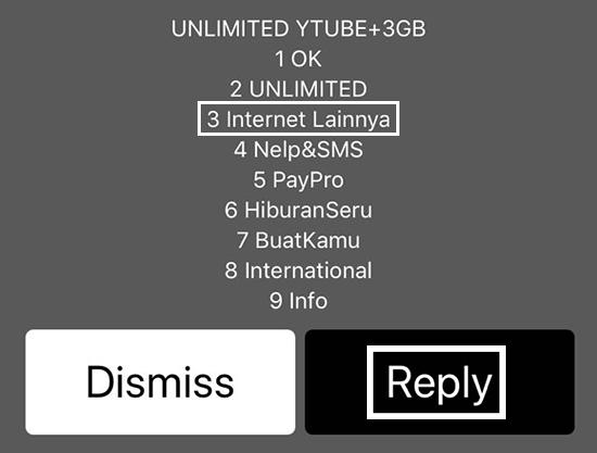 Pilih Nomor 3 Internet Lainnya