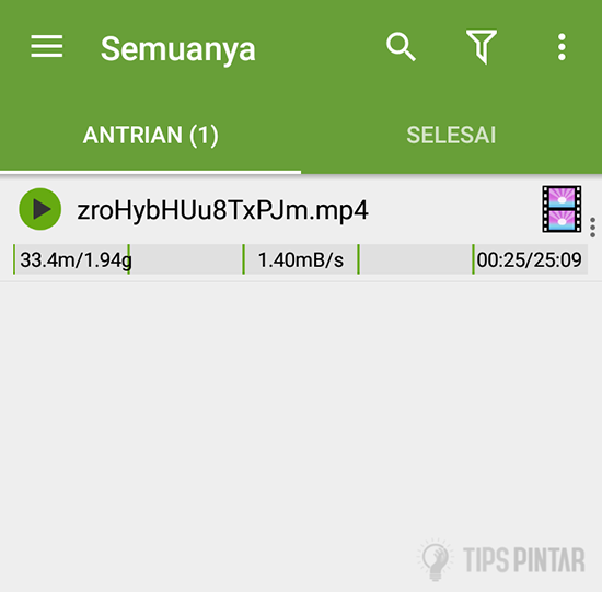 Proses Download