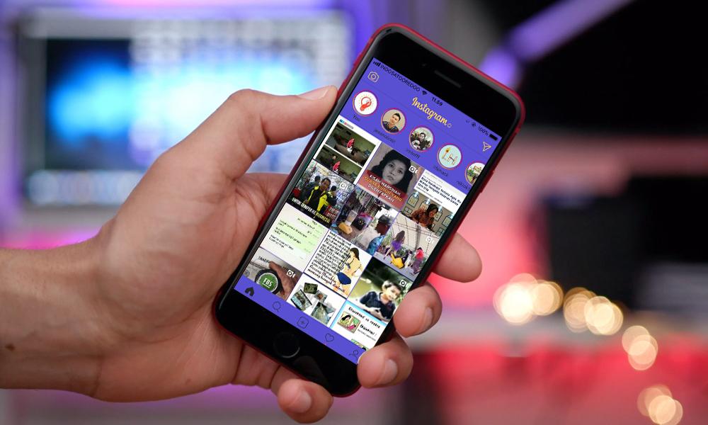 Cara Mengganti Tema Instagram di iPhone